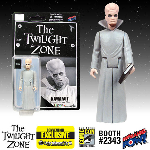 The Twilight Zone Kanamit 3 3/4-Inch Action Figure In Color - SDCC Exclusive
