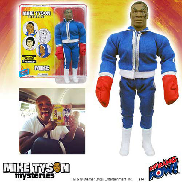 Mike Tyson Mysteries Mike Tyson with Boxing Gloves 8-Inch Action Figure