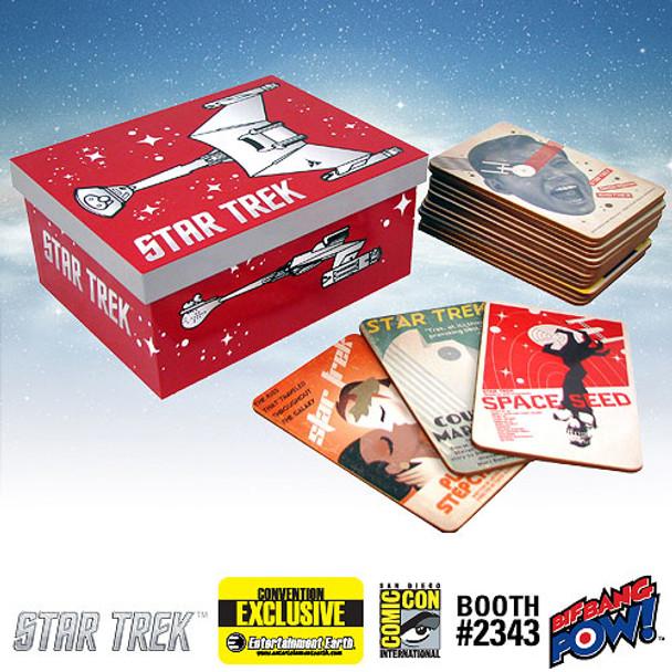 Star Trek: The Original Series Fine Art Coasters Set of 40, Series 2