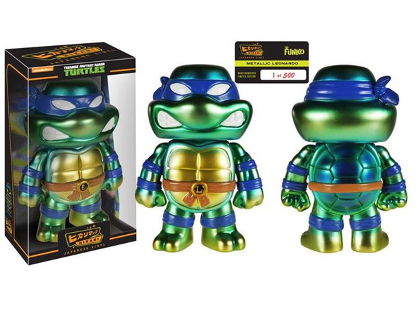 Teenage Mutant Ninja Turtles Leonardo Metallc Hikari Sofubi Vinyl Figure