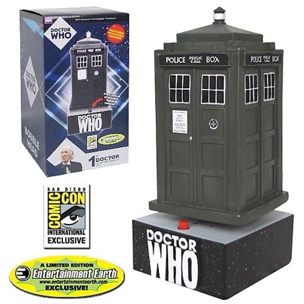 Doctor Who Original TARDIS Bobble Head - SDCC Exclusive