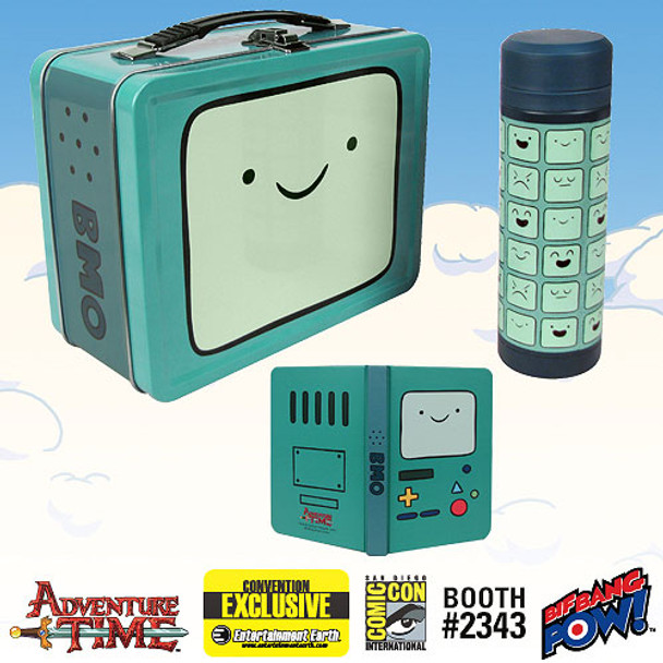 Adventure Time BMO Tin Tote Gift Set - SDCC Exclusive