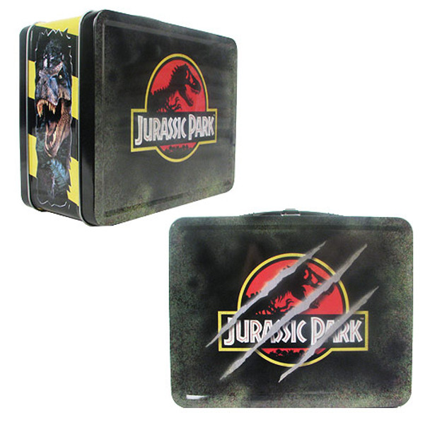 Jurassic Park Retro Style Tin Tote Lunch Box