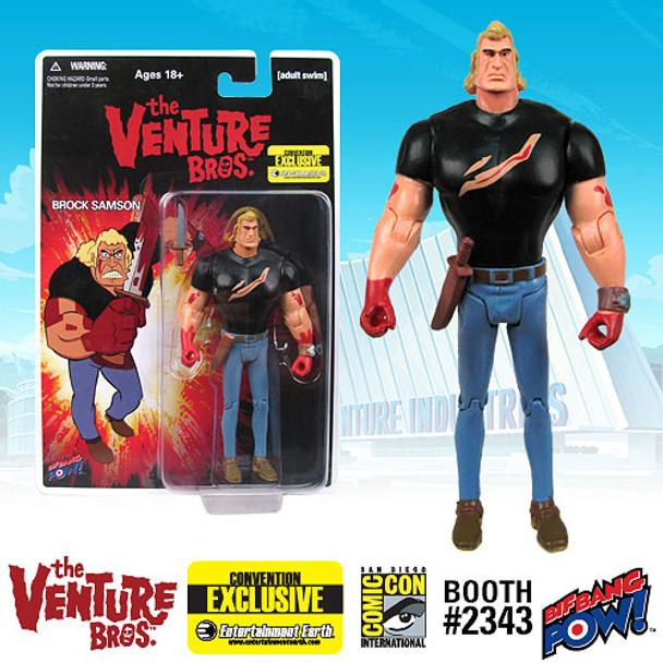 Venture Bros. Brock Bloody Black Shirt 3 3/4-Inch Action Figure - SDCC Exclusive