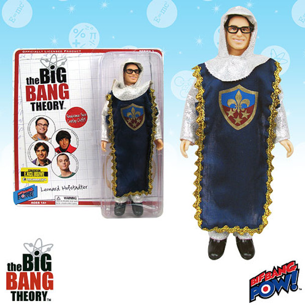 The Big Bang Theory Leonard in Knight Costume 8-Inch Action Figure