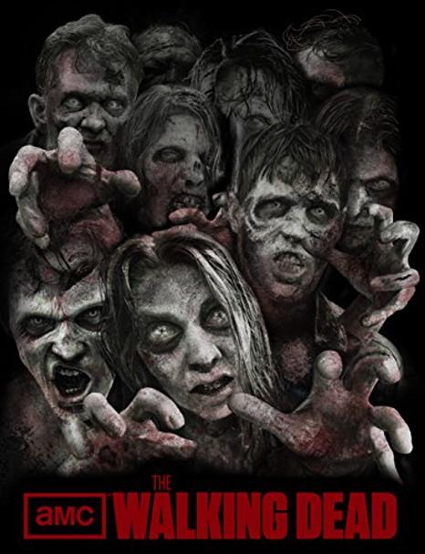 The Walking Dead Walkers Fleece Blanket