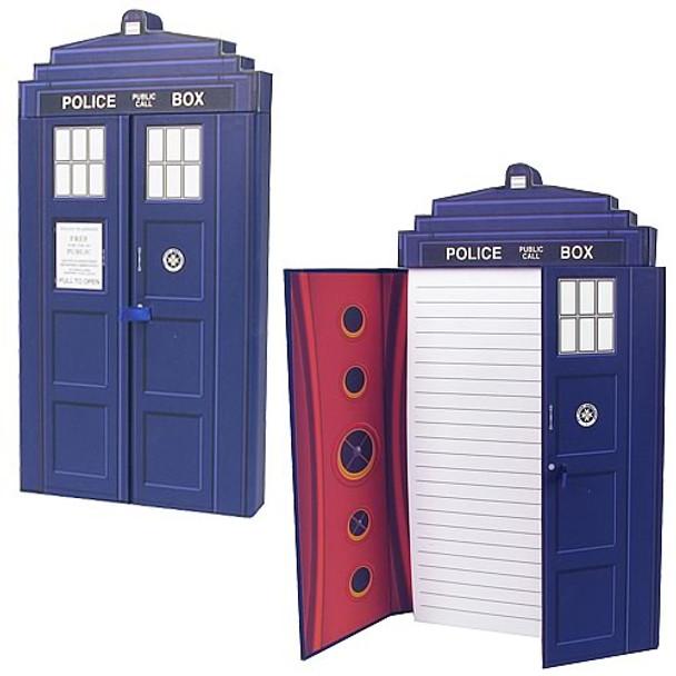 Doctor Who TARDIS Deluxe Journal