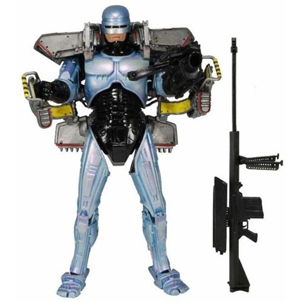 Robocop 7-Inch Ultra Deluxe Action Figure w/Jetpack & Assault Cannon