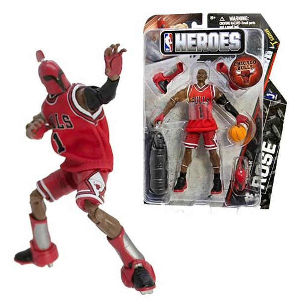 NBA Heroes Derrick Rose Eastern Conference 6-Inch Action Figure