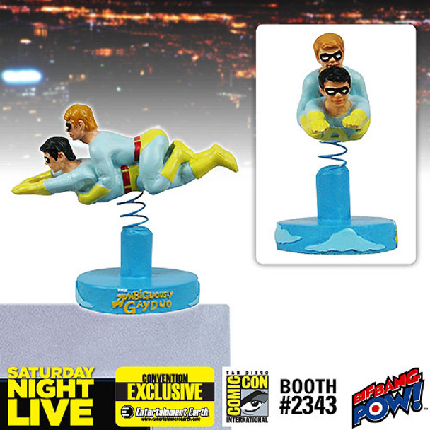 SNL Ace and Gary The Ambiguously Gay Duo Monitor Mate Bobble Heads