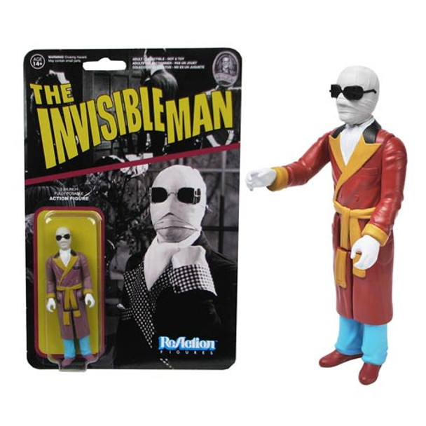 Universal Monsters Invisible Man ReAction 3 3/4-Inch Retro Figure