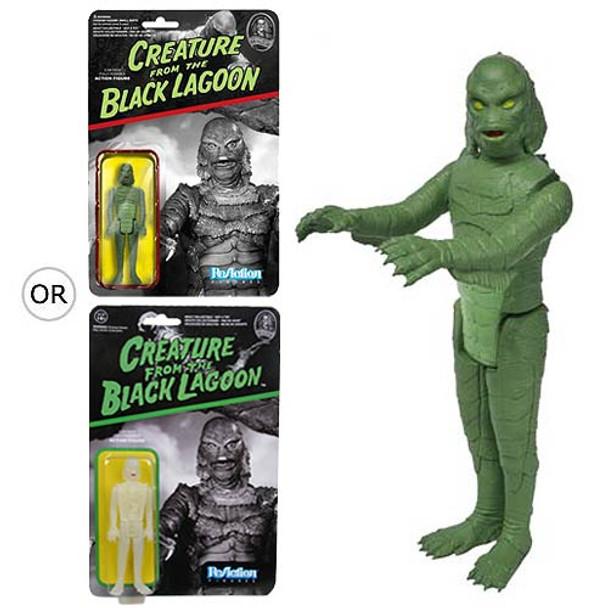 Universal Monsters Creature Black Lagoon ReAction 3 3/4-Inch Figure