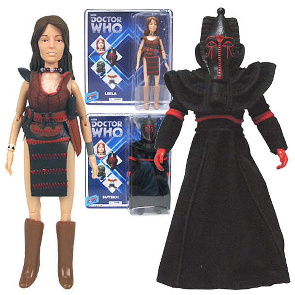 Doctor Who Leela and Sutekh Action Figures