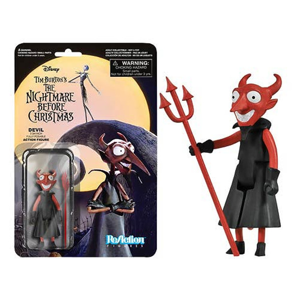 The Nightmare Before Christmas The Devil ReAction 3 3/4-Inch Figure
