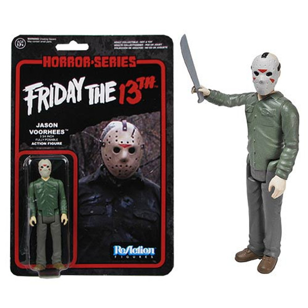 Friday the 13th Jason Voorhees ReAction 3 3/4-Inch Retro Action Figure