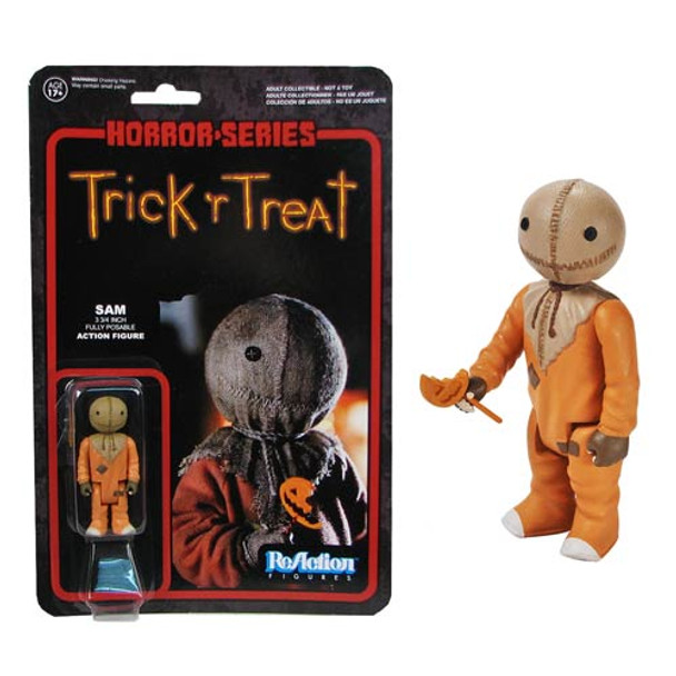 Trick 'R Treat Sam ReAction 3 3/4-Inch Retro Action Figure
