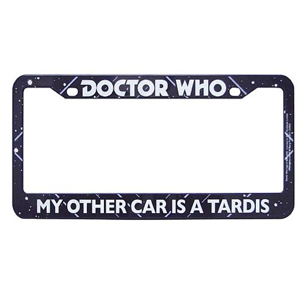 Doctor Who My Other Car Is A TARDIS License Plate Frame Case