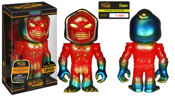Masters of the Universe Mythos Skeletor Hikari Sofubi Vinyl Figure