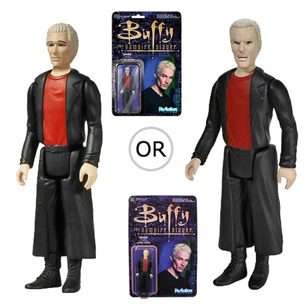 Buffy the Vampire Slayer Spike ReAction 3 3/4-Inch Retro Action Figure