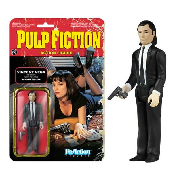 Pulp Fiction Vincent Vega ReAction 3 3/4-Inch Retro Action Figure