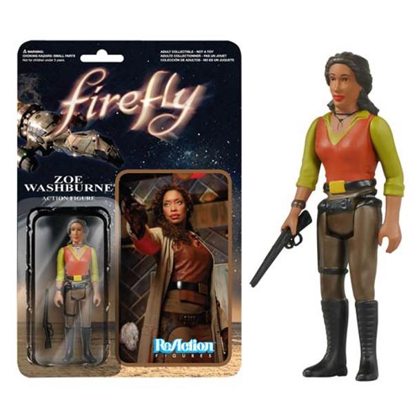 Firefly Zoe Washburne ReAction 3 3/4-Inch Retro Action Figure