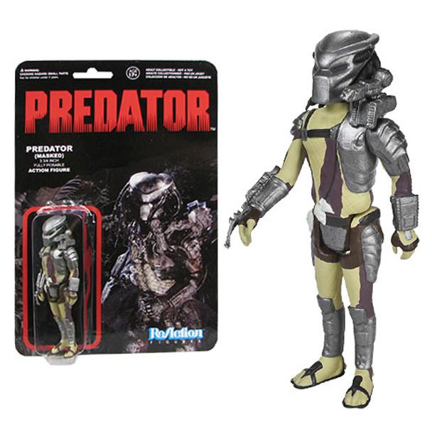 Predator Masked Predator ReAction 3 3/4-Inch Retro Action Figure