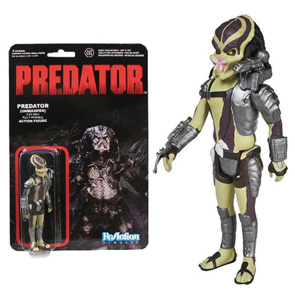 Predator Closed Mouth Predator ReAction 3 3/4-Inch Retro Action Figure