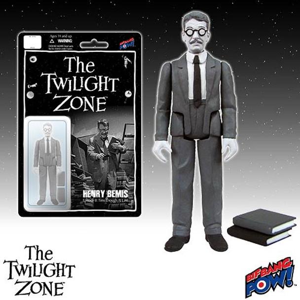 The Twilight Zone Henry Bemis 3 3/4-Inch Action Figure