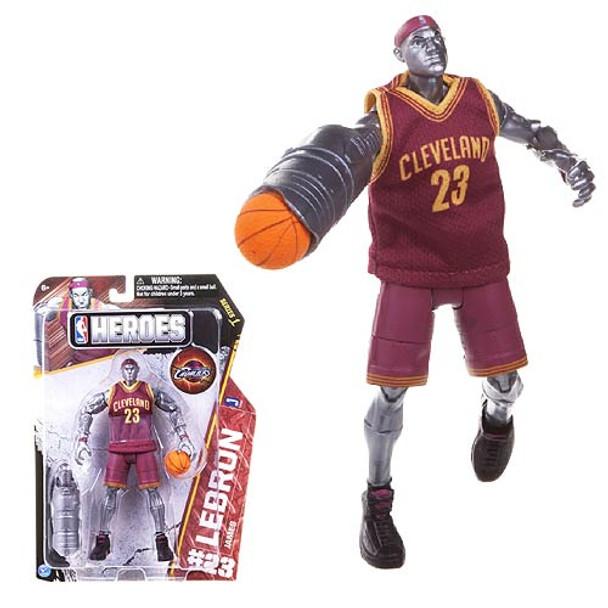 NBA Heroes LeBron James Superstar 7-Inch Action Figure