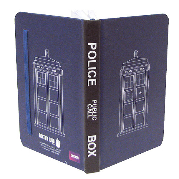 Doctor Who TARDIS Mini-Journal