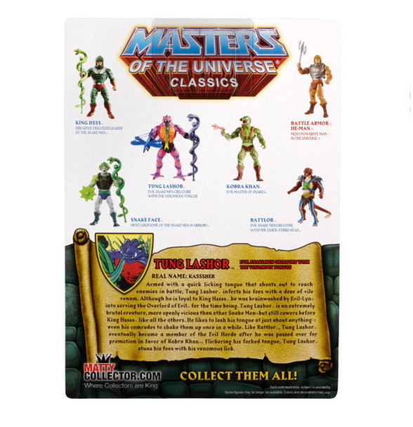 Masters Of The Universe Classics Tung Lashor Figure