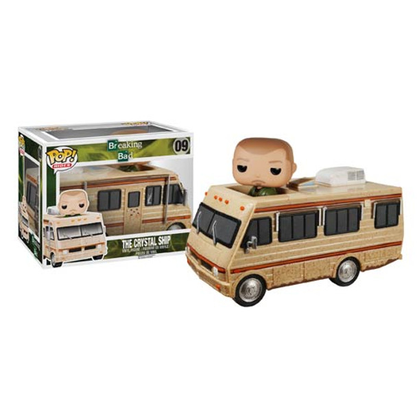 Breaking Bad The Crystal Ship RV with Jesse Pinkman Pop! Vinyl Vehicle