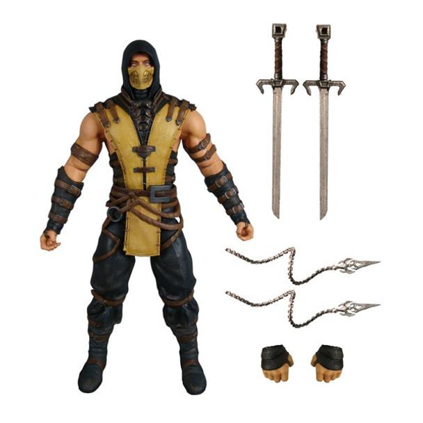 Mortal Kombat Scorpion 6-Inch Action Figure