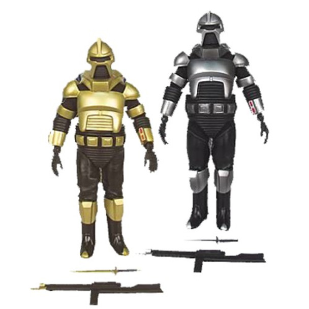 Battlestar Galactica Cylon Commander & Cylon  Centurion Action Figures