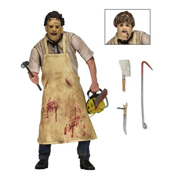 The Texas Chainsaw Massacre Ultimate Leatherface 7-Inch Scale Figure