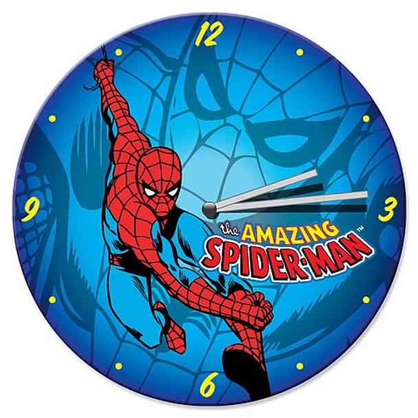 Spider-Man Wood Wall Clock