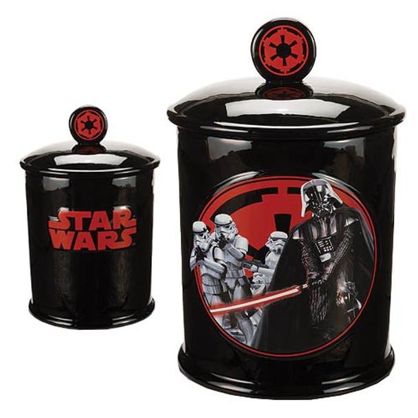 Star Wars Darth Vader Come to the Dark Side We Have Cookies Ceramic Cookie Jar