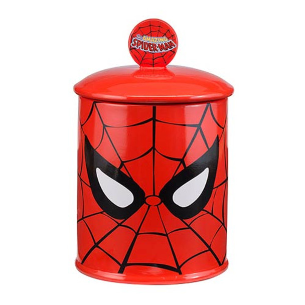 Spider-Man Face Limited Edition Ceramic Cookie Jar