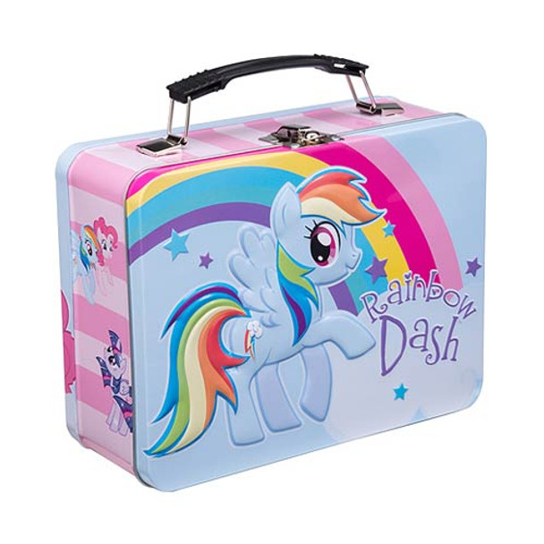 My Little Pony Friendship is Magic Rainbow Dash Large Tin Tote