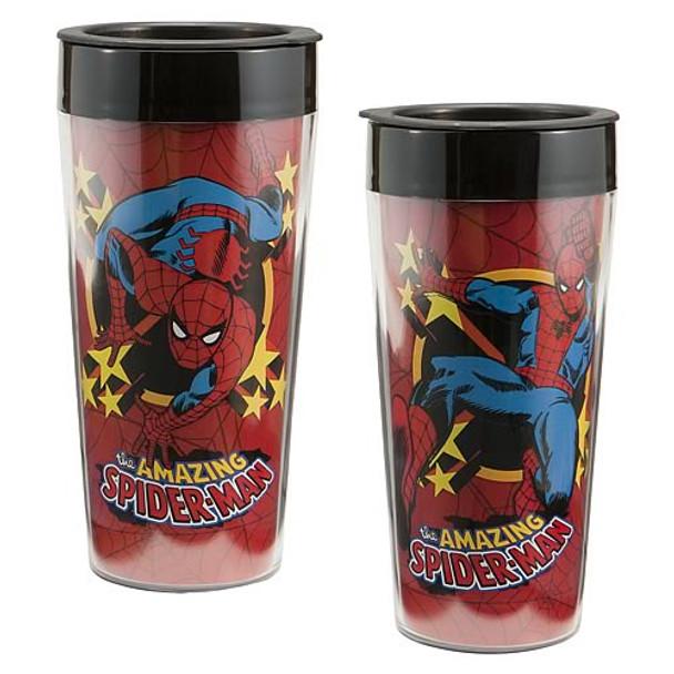 Spider-Man Plastic Travel Mug