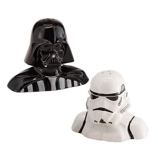 Star Wars Darth Vader and Stormtrooper Salt and Pepper Shaker Set