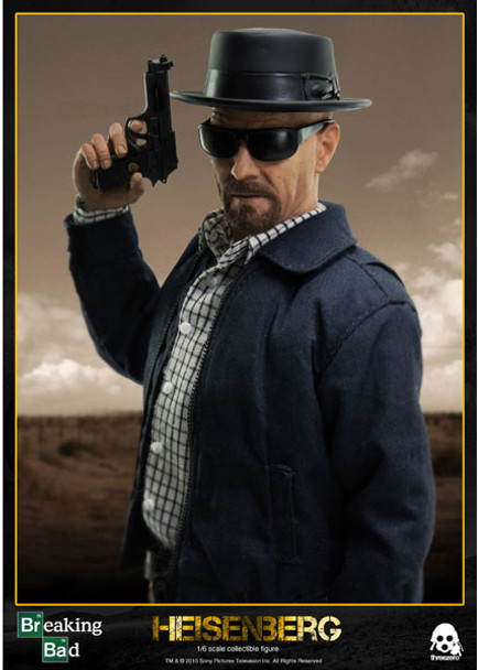Breaking Bad Heisenberg 1:6 Scale Action Figure