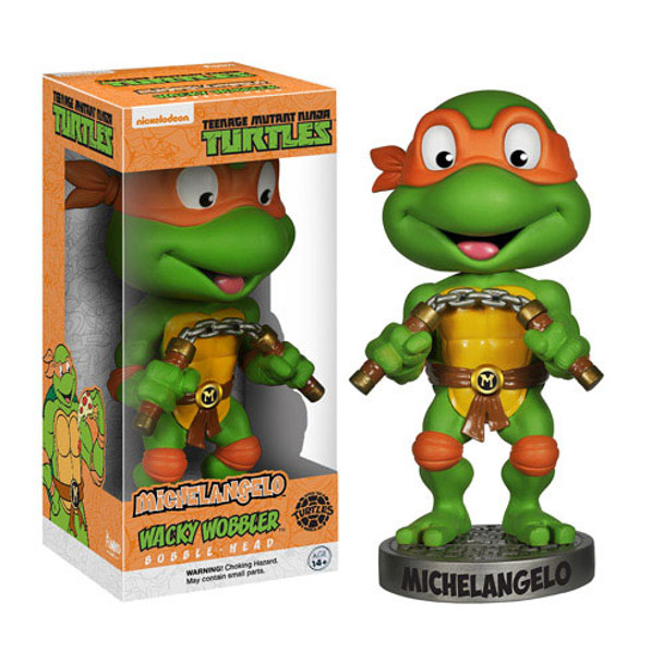 Teenage Mutant Ninja Turtles Michelangelo Bobble Head