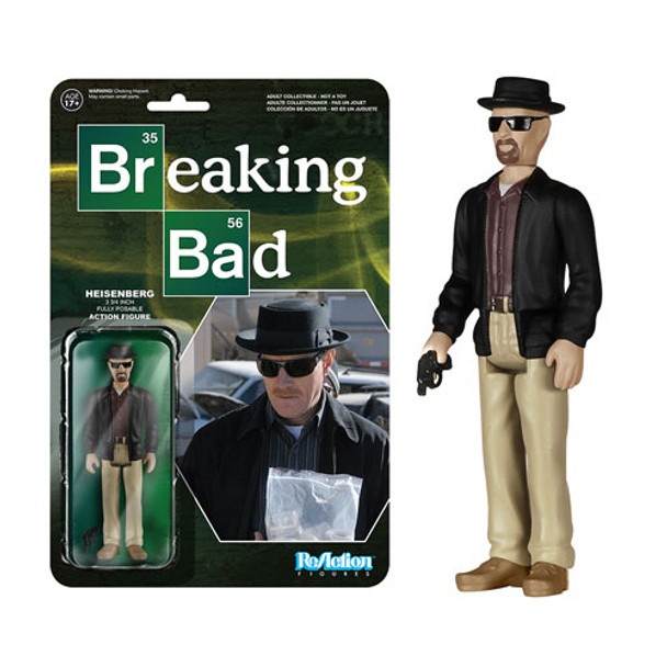 Breaking Bad Heisenberg ReAction 3 3/4-Inch Retro Action Figure