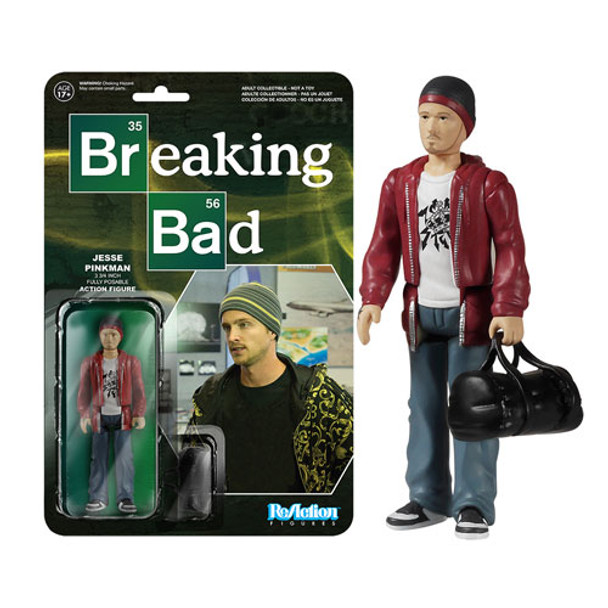 Breaking Bad Jesse Pinkman ReAction 3 3/4-Inch Retro Action Figure