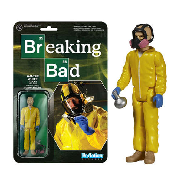 Breaking Bad Walter White Cook ReAction 3 3/4-Inch Retro Action Figure