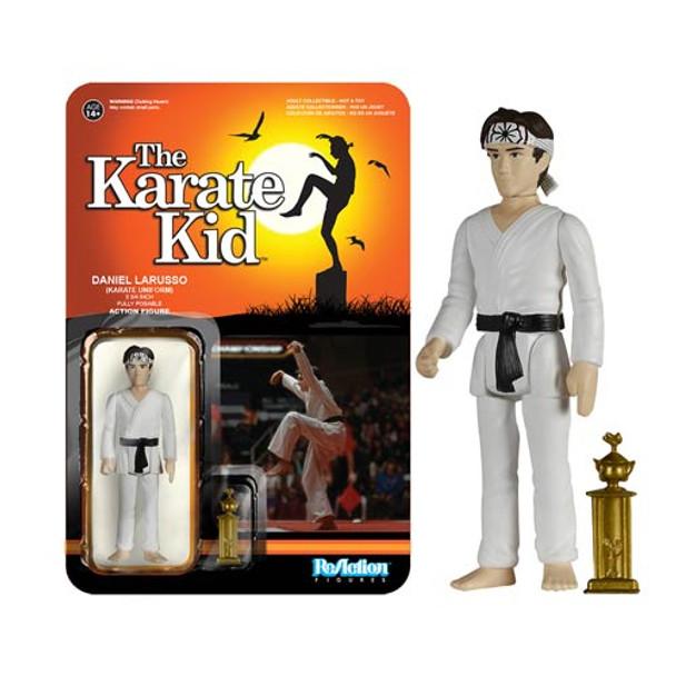 Karate Kid Karate Daniel Larusso ReAction 3 3/4-Inch Retro Figure