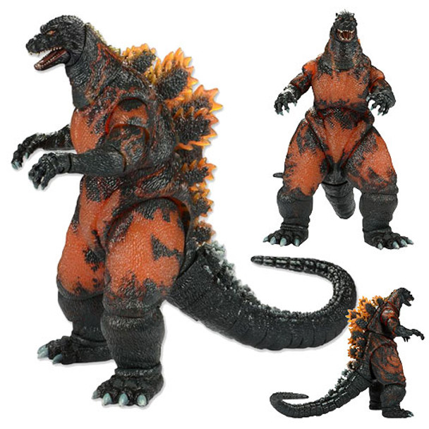 Godzilla 1995 Classic Burning Godzilla 12-Inch Head to Tail Action Figure