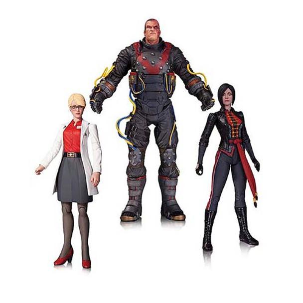Batman Electrocutioner, Harleen Quinzel, & Lady Shiva Figures