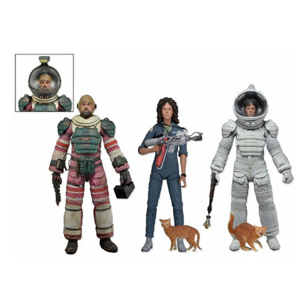 Aliens Series 4 Action Figure Set